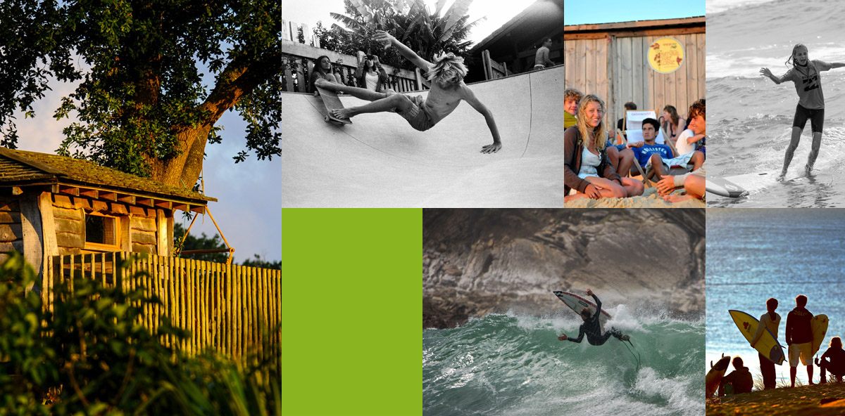 De bons moments entre ados en surf camp avec Natural Surf Lodge
