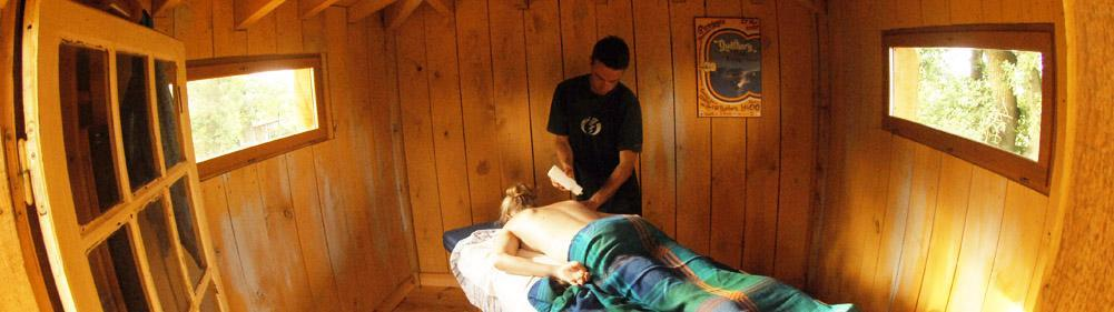 Get a massage during your surf stay