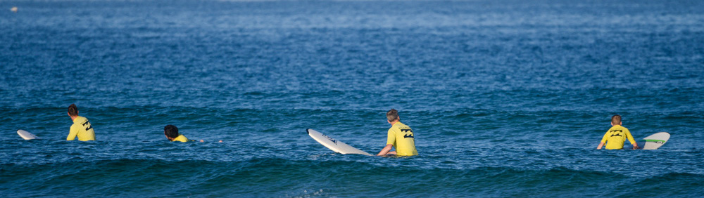 Learn to take off with Natural Surf School in Seignosse