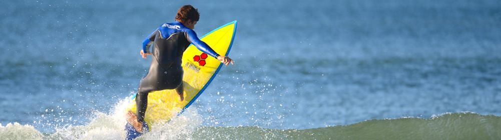 Progress surfing for teenagers with Natural Surf Lodge