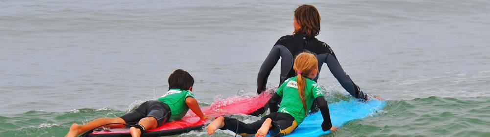 Learn to surf from early stage with Natural Surf School