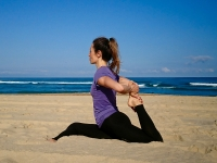 Surf & Pilates avec Christine au Natural Surf Lodge